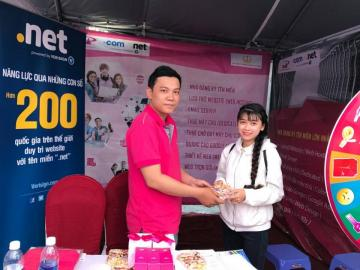 P.A attended the 2017 Job Fair - Can Tho University