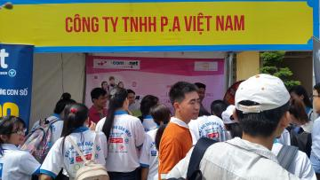 P.A VIETNAM JOINT STOCK COMPANY WORKSHOP DAY AT THE UNIVERSITY OF THU DAU MOT